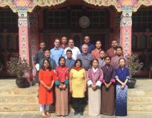August visit, Bhutan 2019